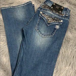 Miss me boot cut jeans 30 x 33.5